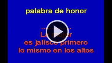 Karaoke Ay Jalisco no te rajes