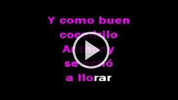 Karaoke Cocodrilo