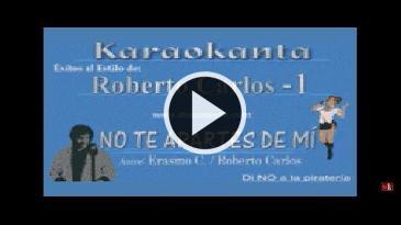 Karaoke No te apartes de mí